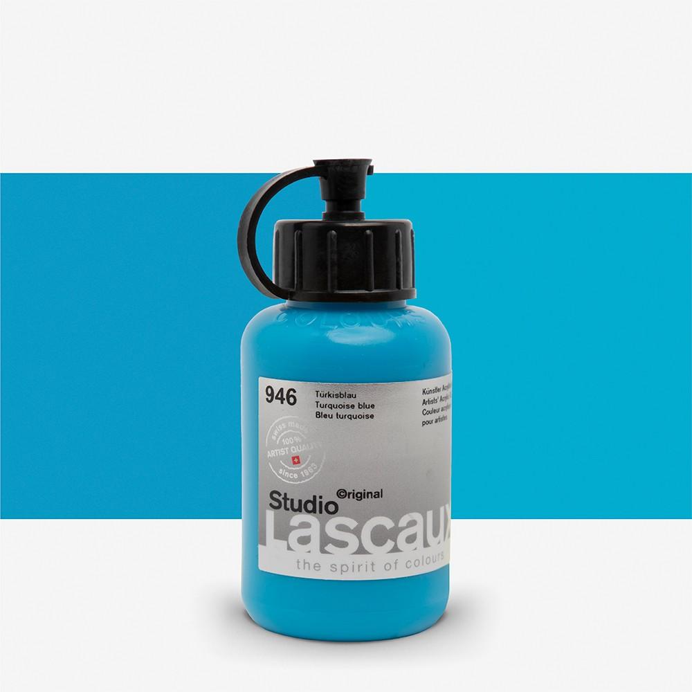 Lascaux : Studio : 85ml : Turquoise Blue