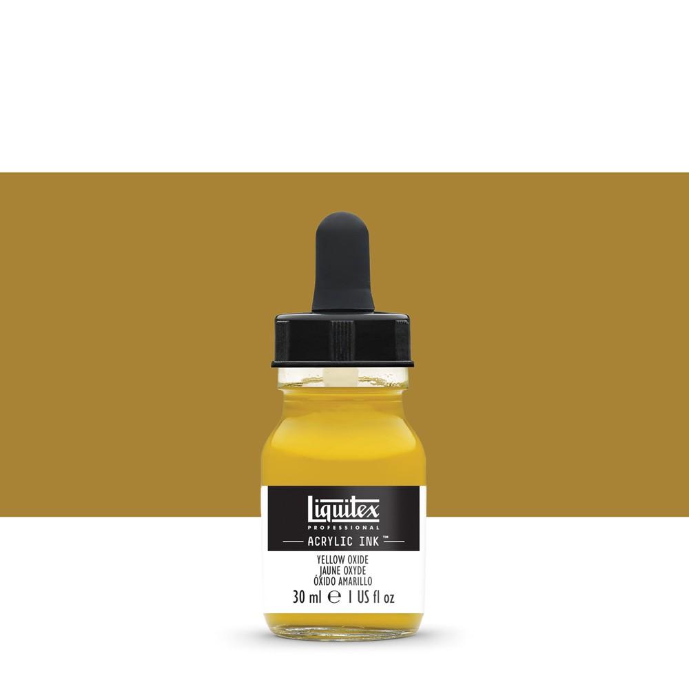 Liquitex : Professional : Acrylic Ink : 30ml : Yellow Oxide
