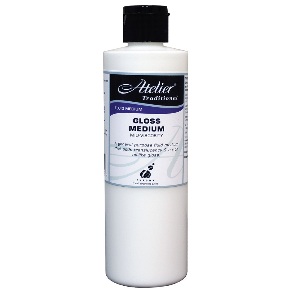 Atelier : Acrylic Medium : 250ml : Gloss Medium