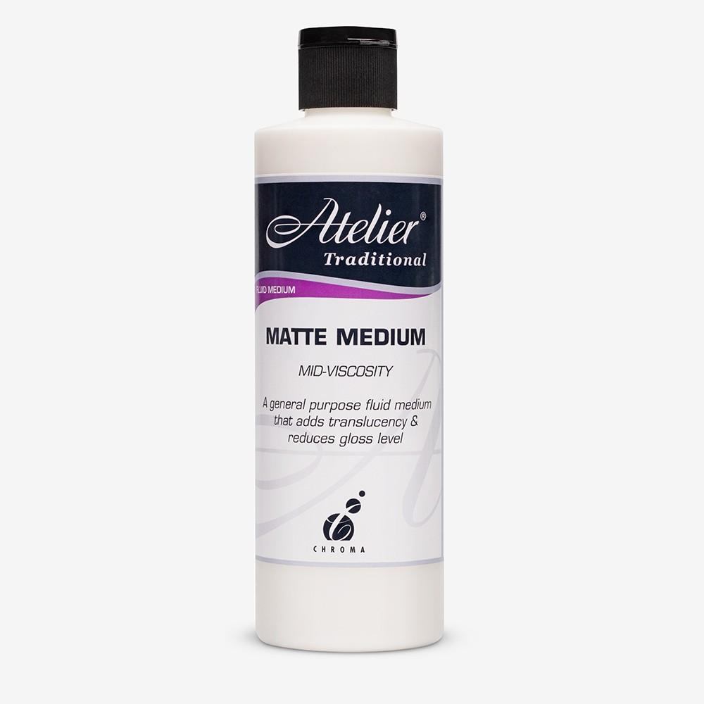 Atelier : Acrylic Medium : 250ml : Matte Medium