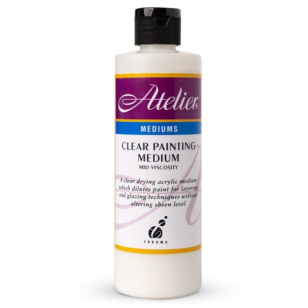 Atelier : Acrylic Medium : 250ml : Clear Painting Medium