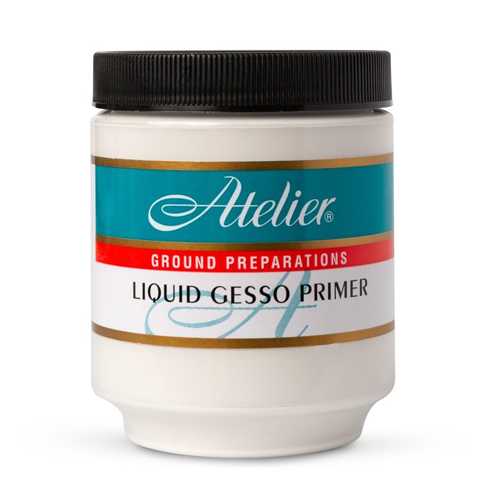 Atelier : Acrylic Medium : 250ml : Liquid Gesso Primer