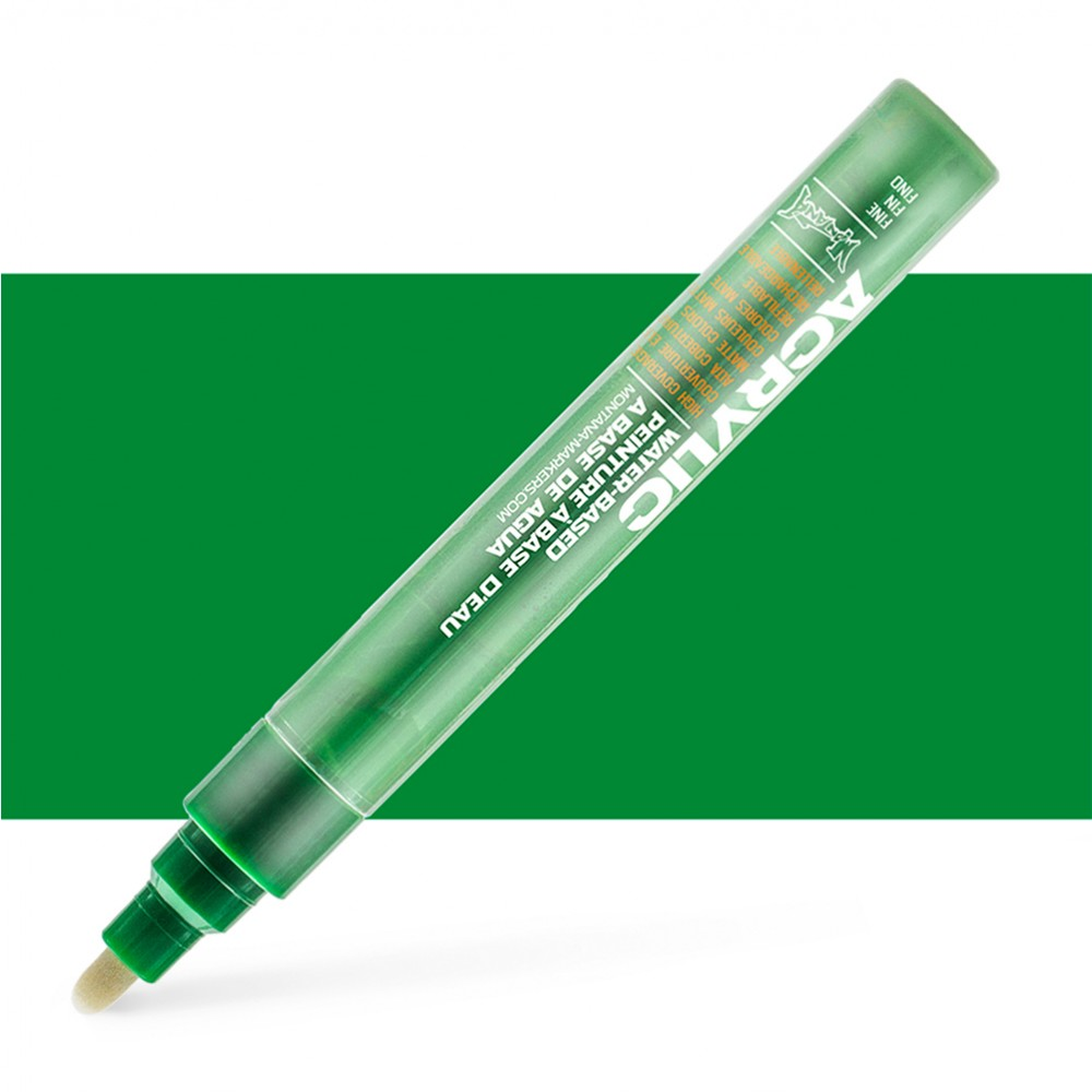 Montana : Acrylic : Marker : 2mm : Shock Green