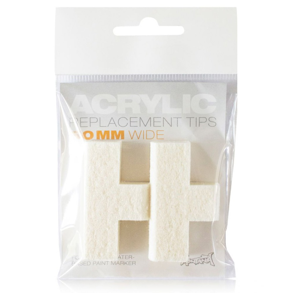 Montana : Acrylic : Replacement Tip For Marker : Pack Of 2 : 50mm