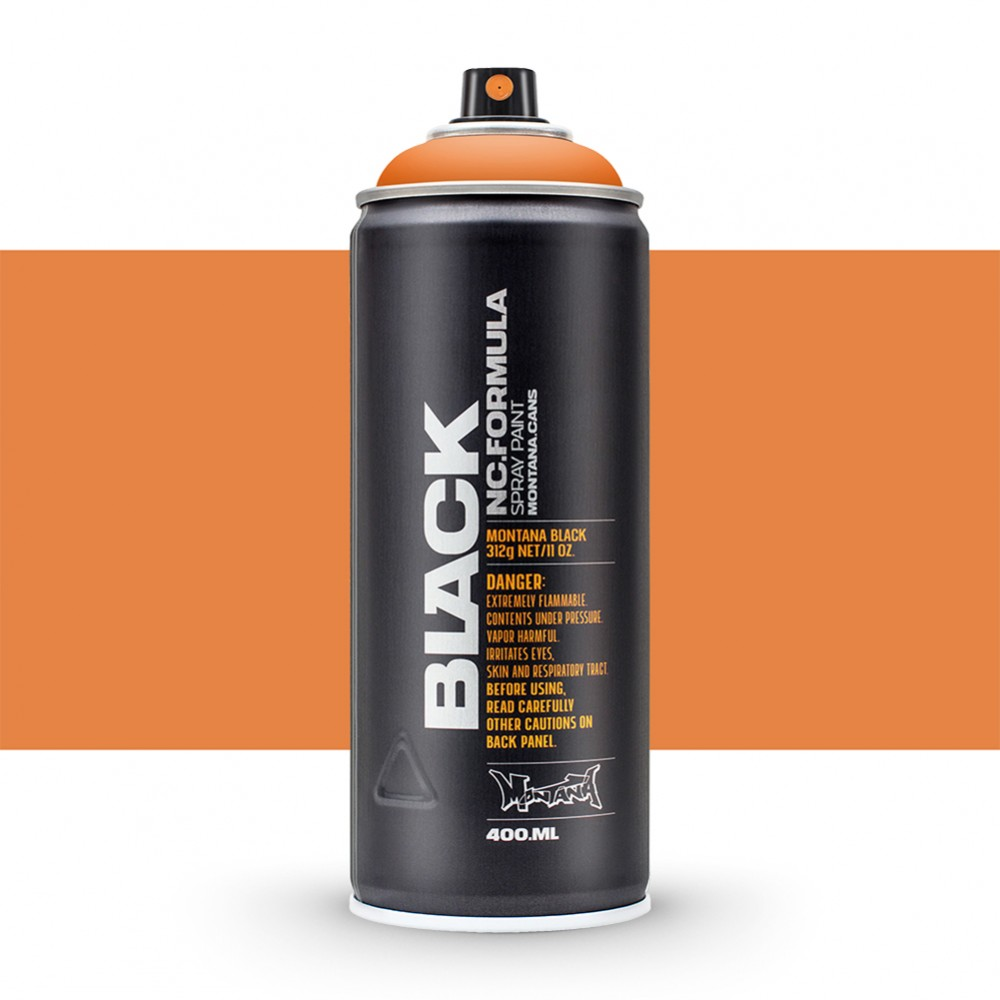Montana : Black : 400ml : Pure Orange : Ship By Road Only