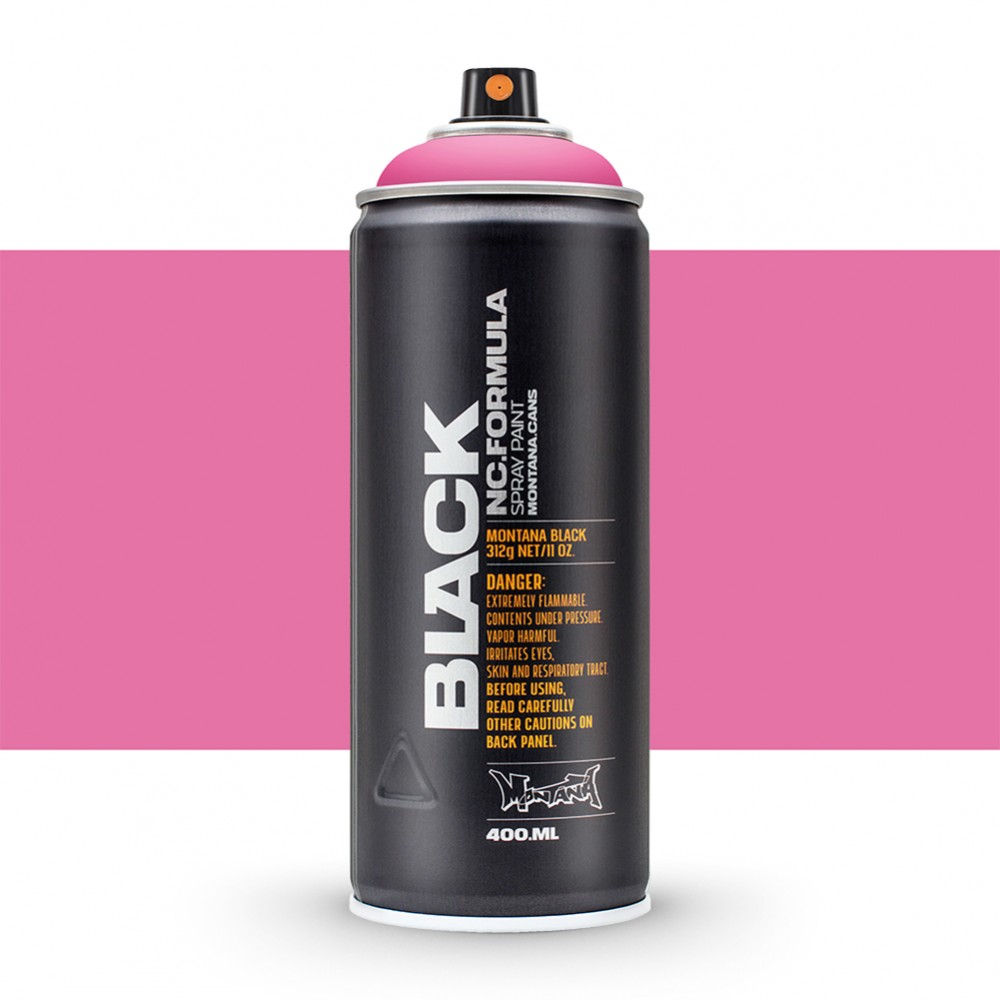 Montana : Black : 400ml : Pink Panther (By Road Parcel Only)