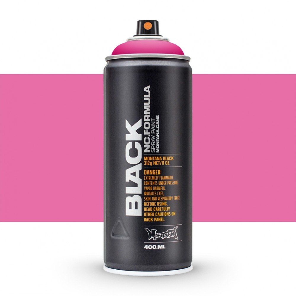 Montana : Black : 400ml : True Magenta (By Road Parcel Only)