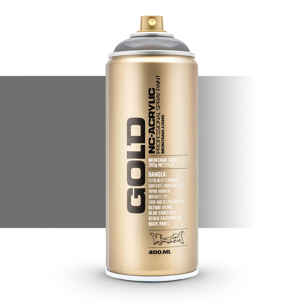 Montana : Gold : 400ml : Mystic Black : Transparent : (By Road Parcel Only)