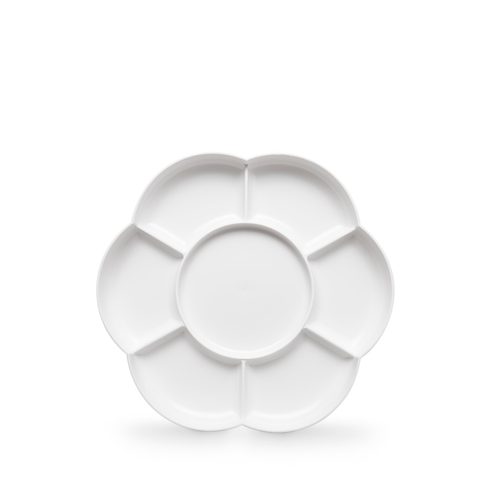 JAS : Plastic Palette : 7 well Daisy 7 in. diameter (APP5)