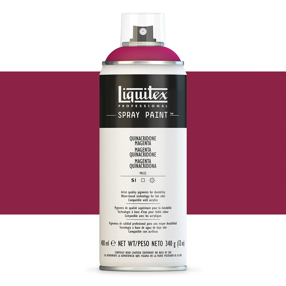 Liquitex : Professional : Spray Paint : 400ml : Quinacridone Magenta (By Road Parcel Only)