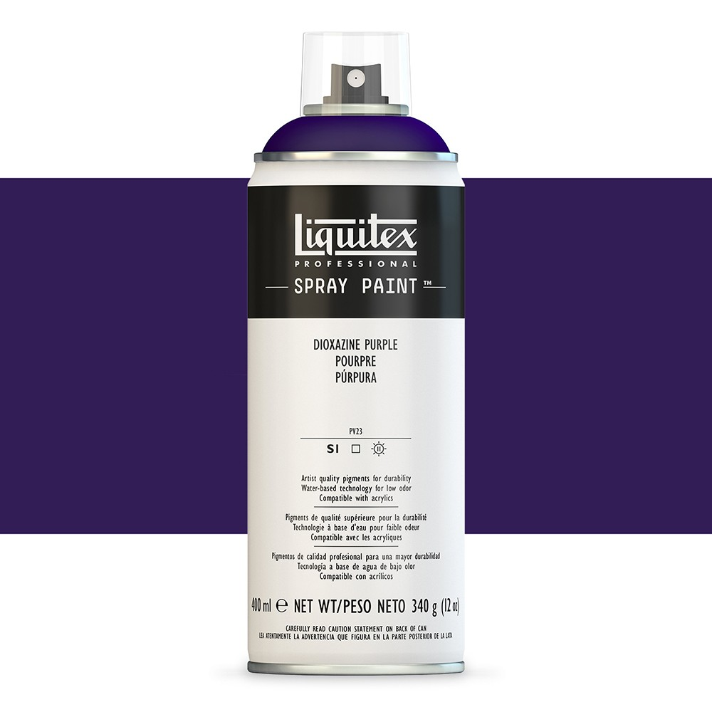 Liquitex : Professional : Spray Paint : 400ml : Dioxazine Purple (By Road Parcel Only)