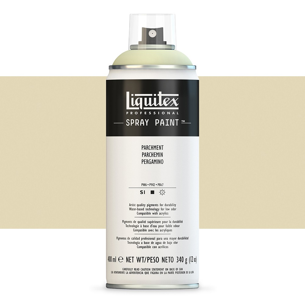 Liquitex : Professional : Spray Paint : 400ml : Parchment : By Road Parcel Only