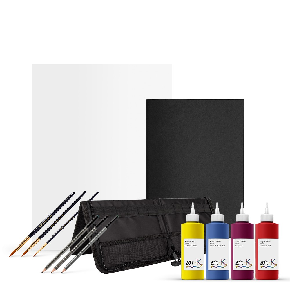 Art-K : Mixed Art Supplies Bundle