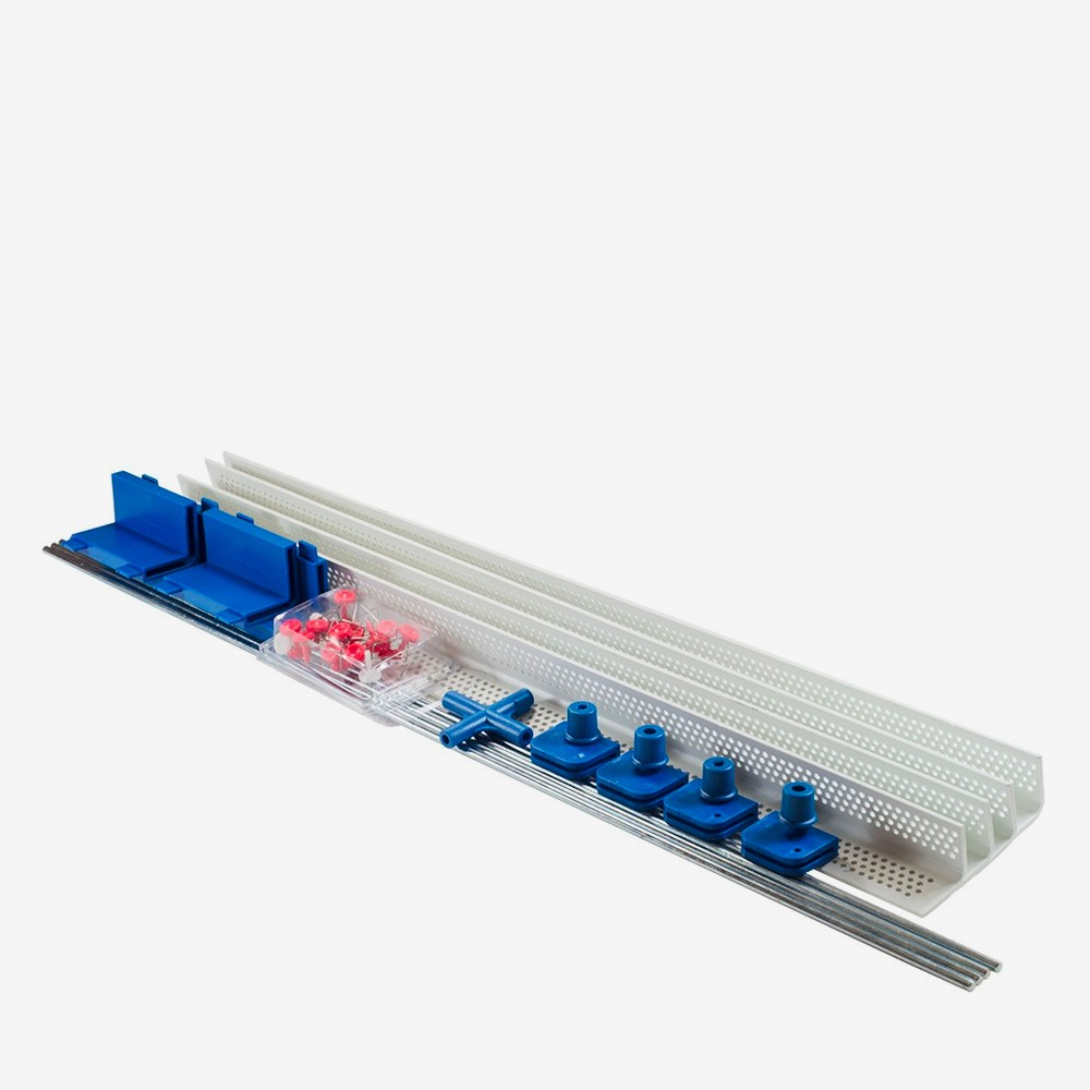 Easy Fix Silk Frame Extension plus 12 claws increases the 94x94cm frame to 46x196cm or 114x114cm