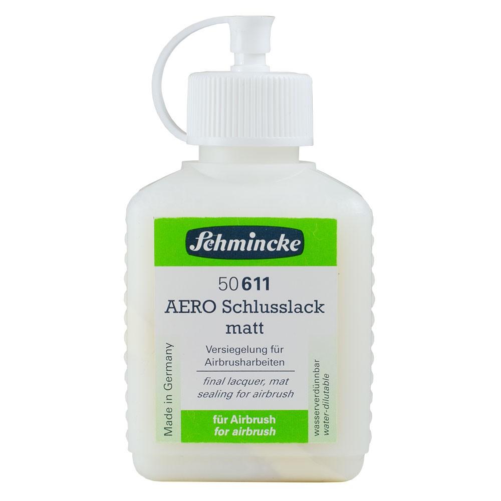 Schmincke : Aero Final Lacquer Varnish : 125ml : Matt