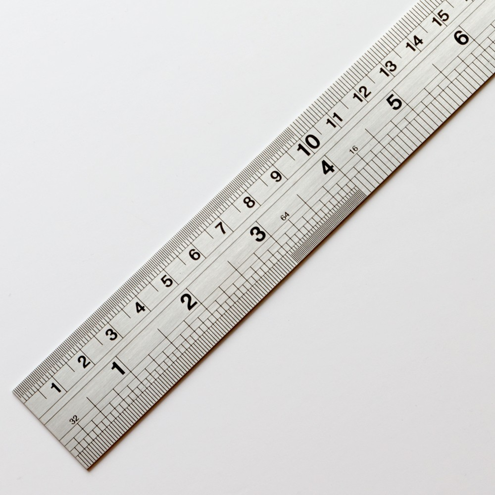 Handover : Ruler : Steel Ruler : 60 cm (24in)