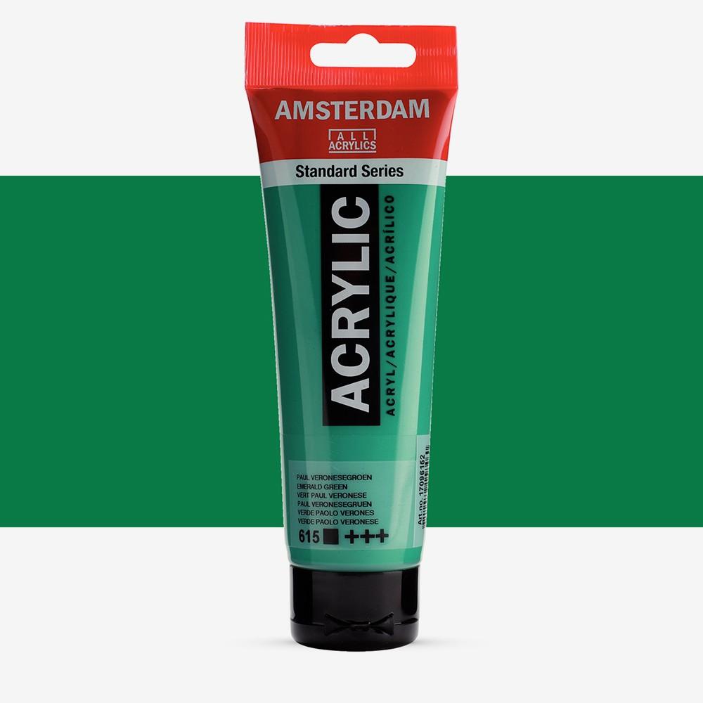 Talens : Amsterdam Standard : Acrylic Paint : 120ml : Emerald Green
