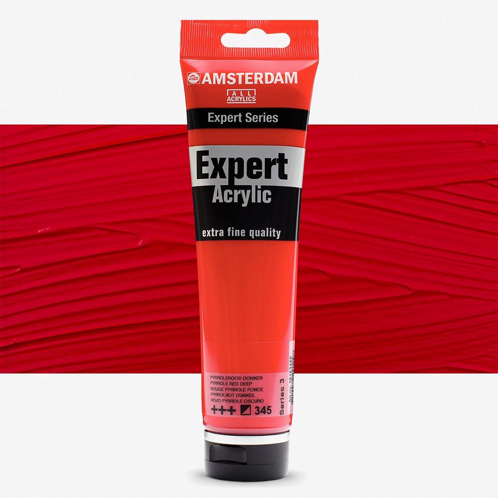 Talens : Amsterdam Expert Acrylic 150ml series 3 Pyrole Red Deep