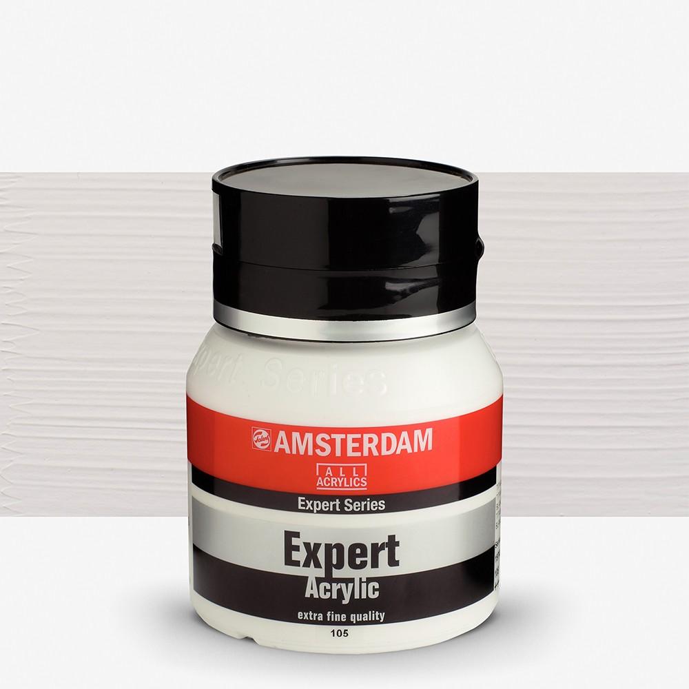 Talens : Amsterdam Expert : Acrylic Paint : 400ml : S1 : Titanium White