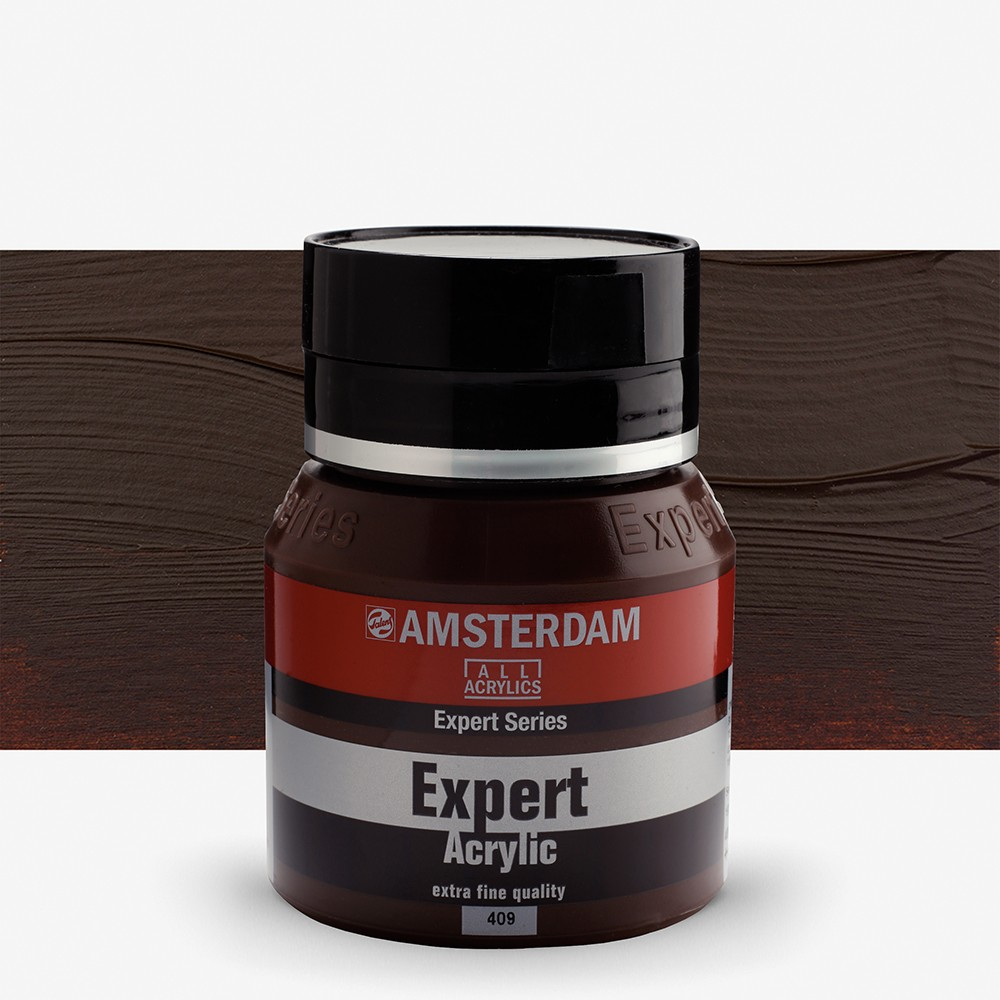 Royal Talens : Amsterdam Expert : Acrylic Paint : 400ml : S2 : Burnt Umber