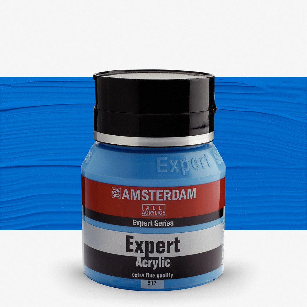 Talens : Amsterdam Expert : Acrylic Paint : 400ml : S2 : King's Blue
