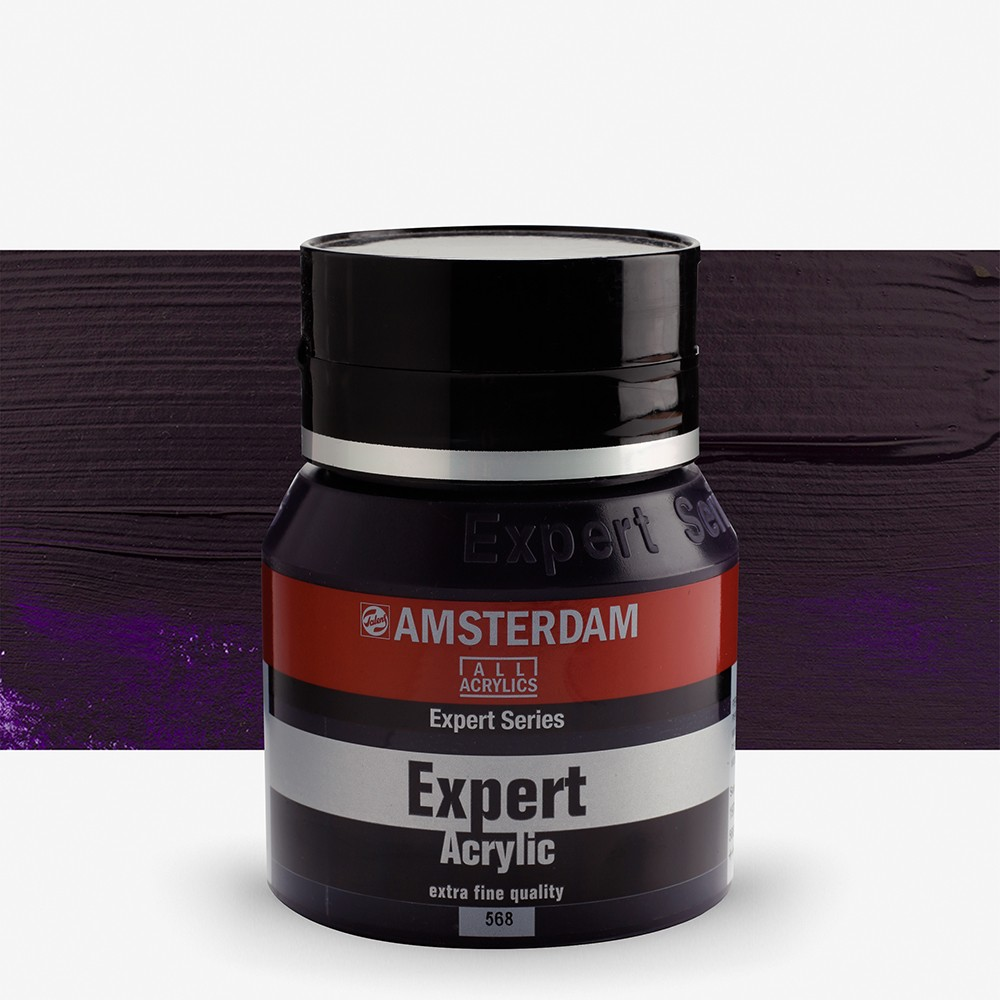 Talens : Amsterdam Expert : Acrylic Paint : 400ml : S3 : Permanent Blue Violet