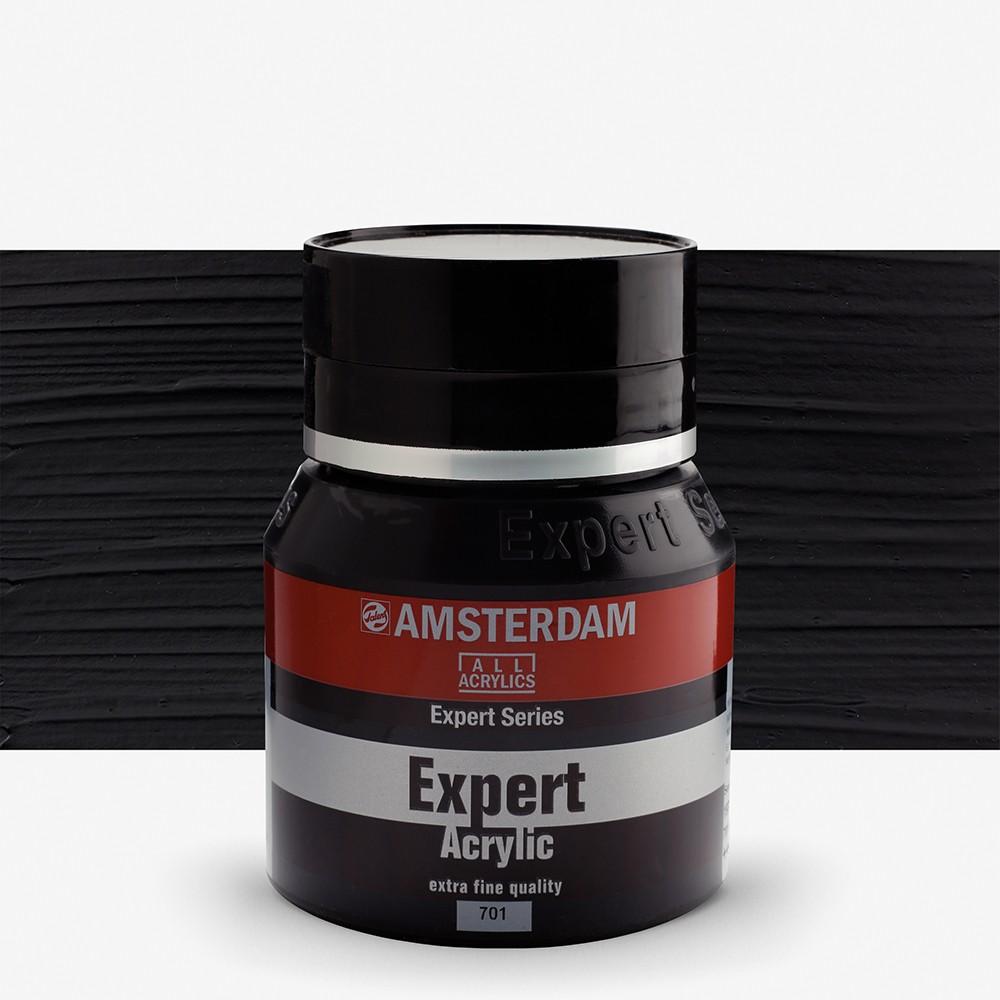 Talens : Amsterdam Expert : Acrylic Paint : 400ml : S1 : Ivory Black
