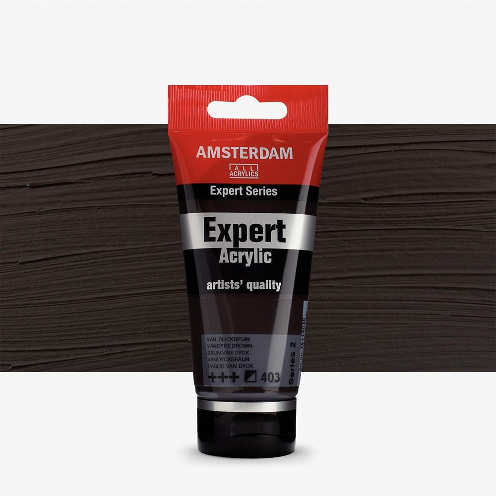Talens : Amsterdam Expert Acrylic 75ml series 2 Vandyke Brown