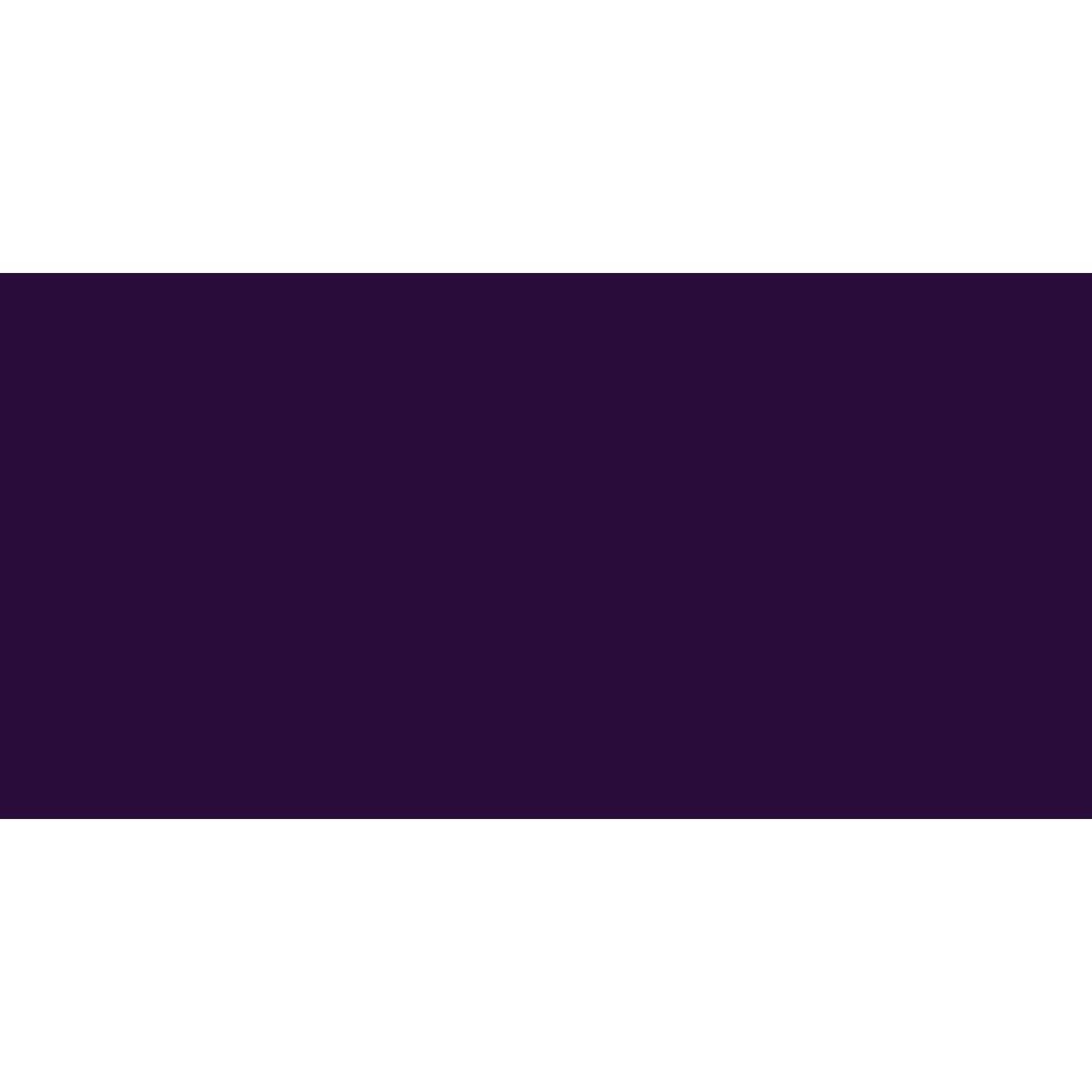 Turner : Acrylic Gouache Paint : Japanesque Texture : 20ml : Japanesque Black Purple 363