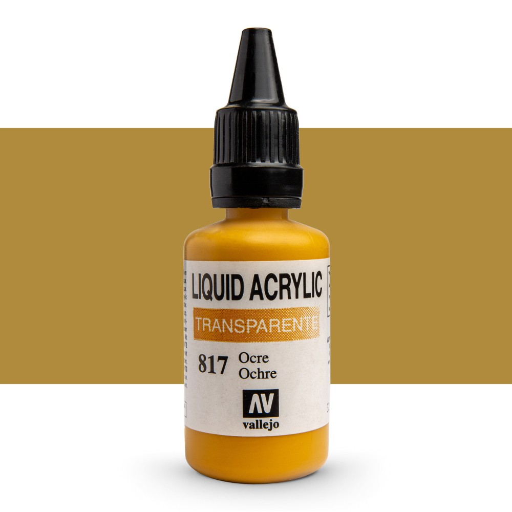 Vallejo : Liquid Acrylic Paint : 32ml : Ochre