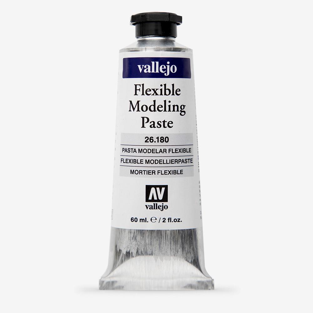 Vallejo : Acrylic White Stone Modeling Paste Medium : 60ml