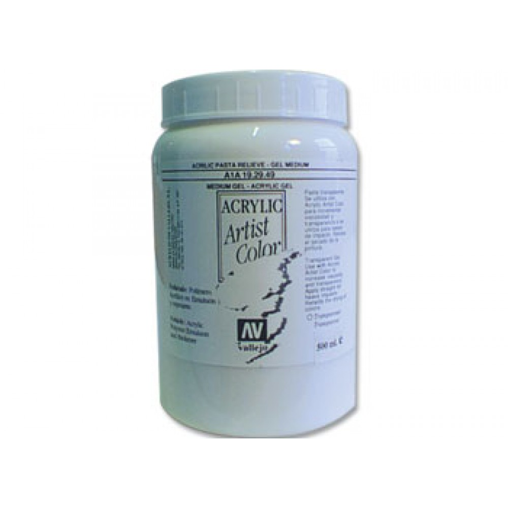 Vallejo : Acrylic Gel Medium : 5000ml