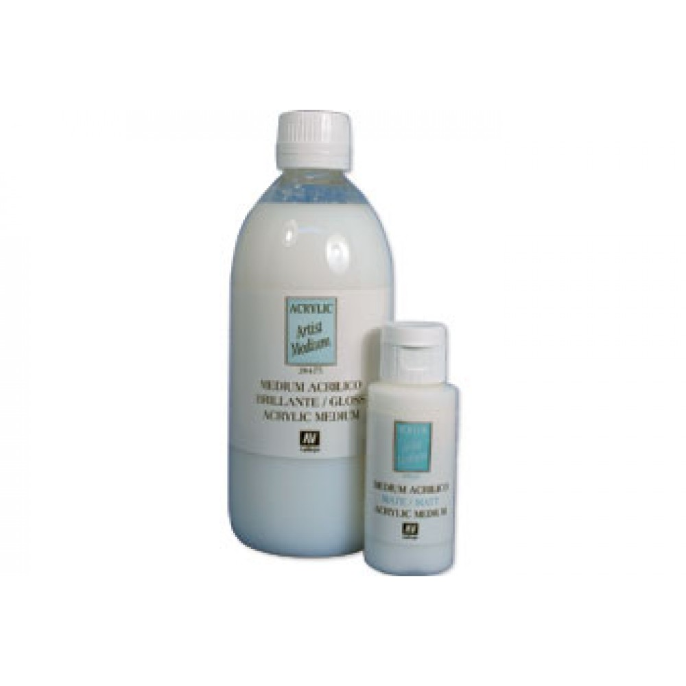 Vallejo : Acrylic Fluid Gloss Medium : 5000ml