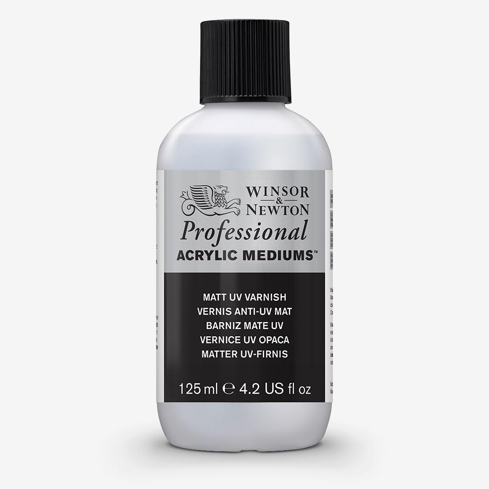Winsor & Newton : Professional Acrylic : Matt UV Varnish : 125ml