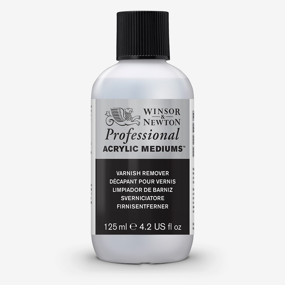 Winsor & Newton : Professional : Acrylic Medium : Varnish Remover : 125ml