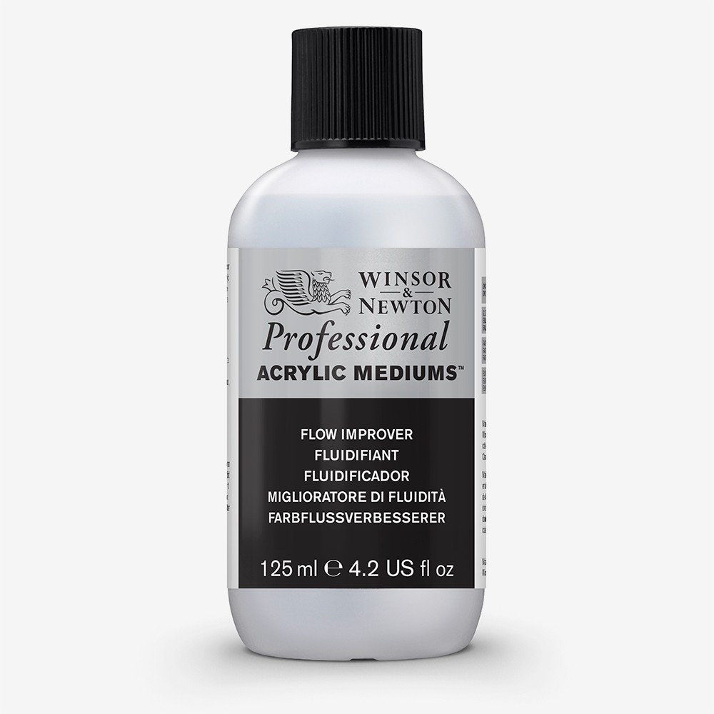 Winsor & Newton : Professional : Acrylic Medium : Flow Improver : 125ml