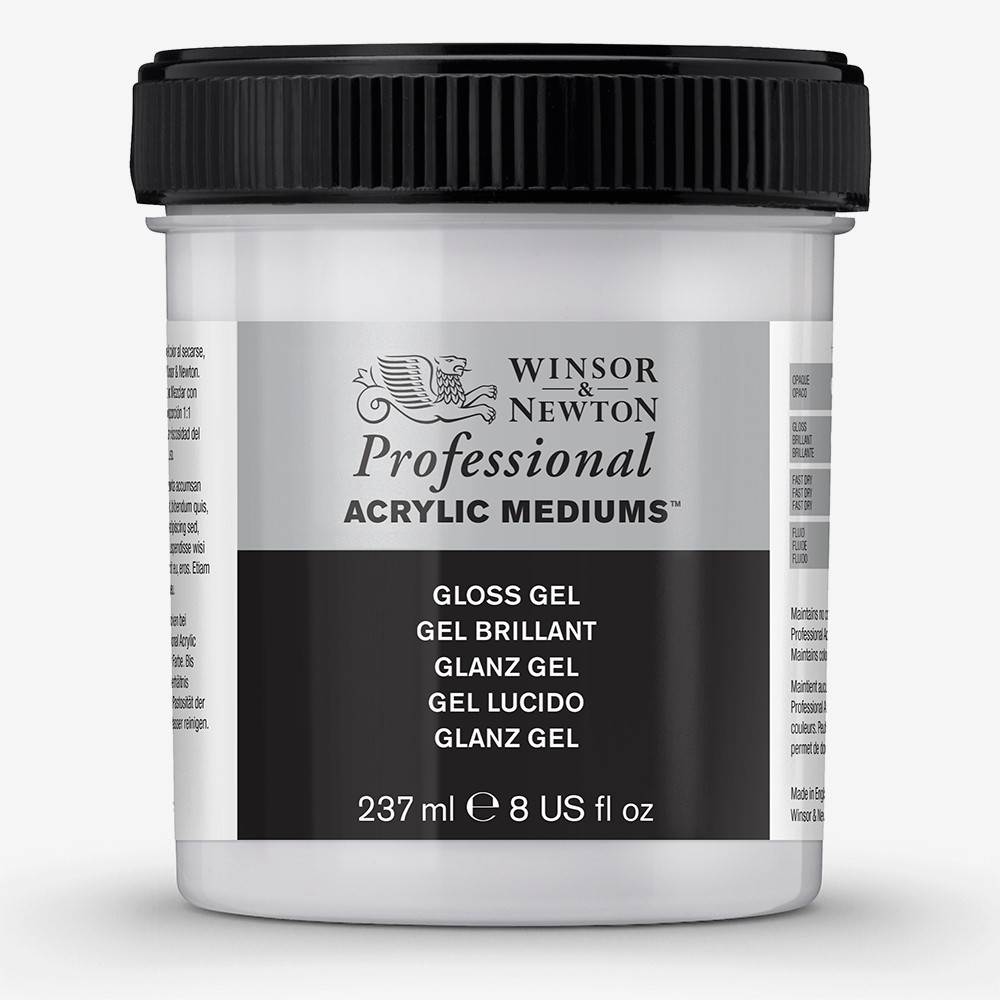 Winsor & Newton : Professional Acrylic : Gloss Gel : 237ml