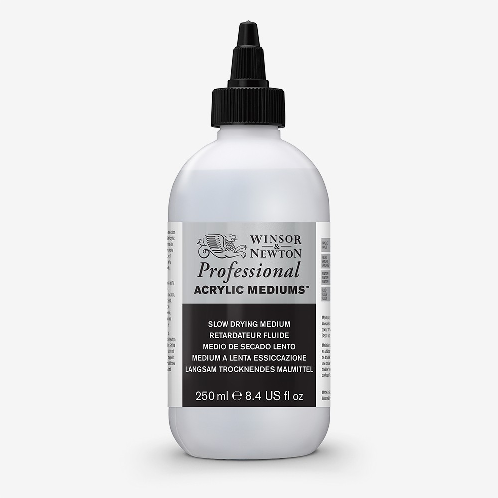 Winsor & Newton : Professional Acrylic : Slow Drying Medium : 250ml