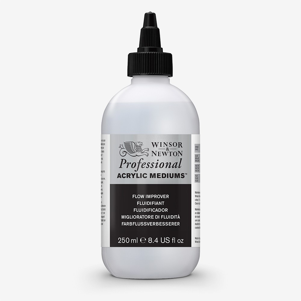 Winsor & Newton : Professional Acrylic : Flow Improver : 250ml