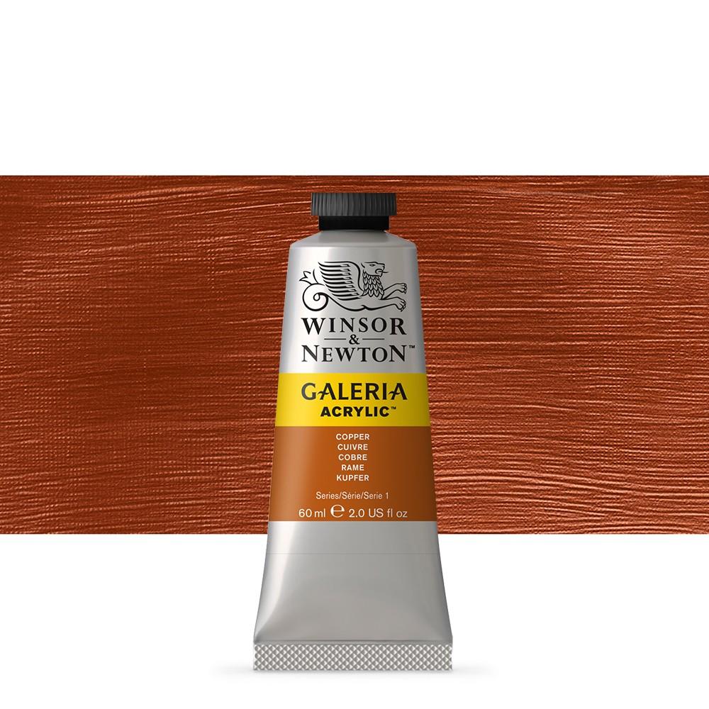 Winsor & Newton : Galeria : Acrylic Paint : 60ml : Copper