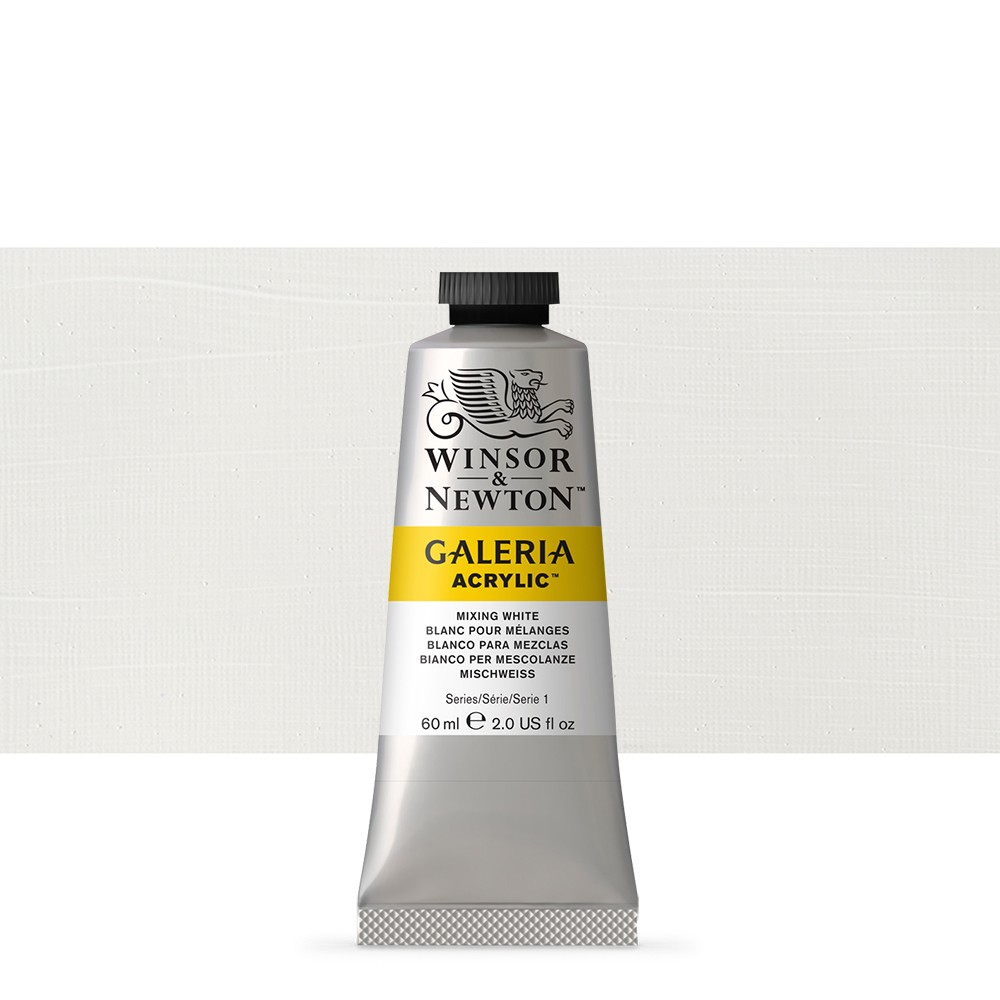 W&N : Galeria : Acrylic Paint : 60ml : Mixing White