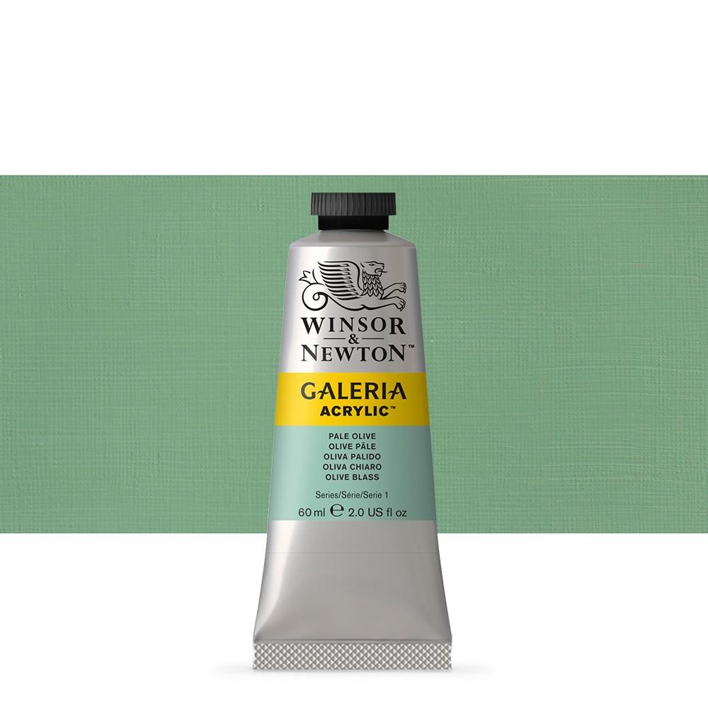 W&N : Galeria : Acrylic Paint : 60ml : Pale Olive