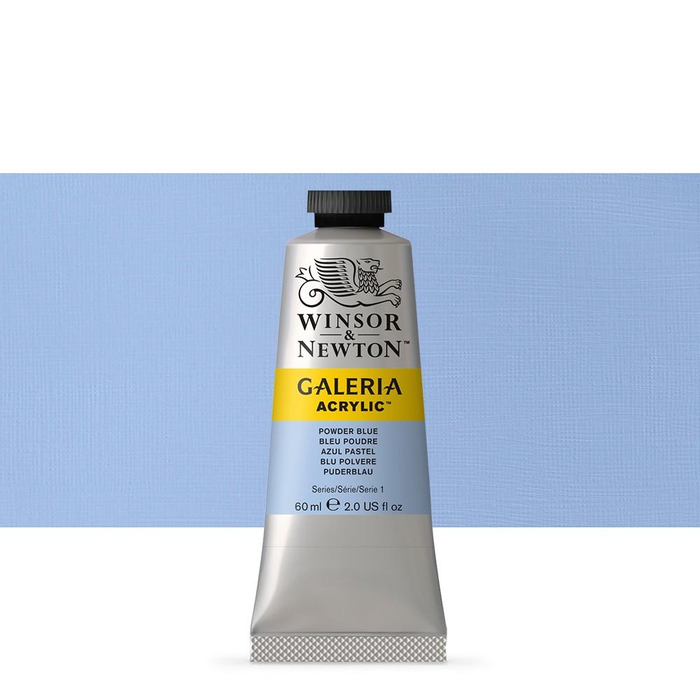 W&N : Galeria : Acrylic Paint : 60ml : Powder Blue