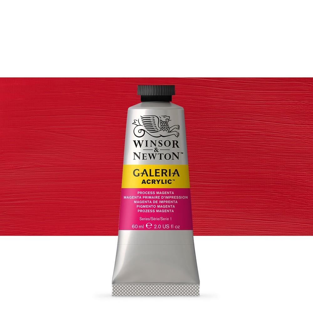 W&N : Galeria : Acrylic Paint : 60ml : Process Magenta
