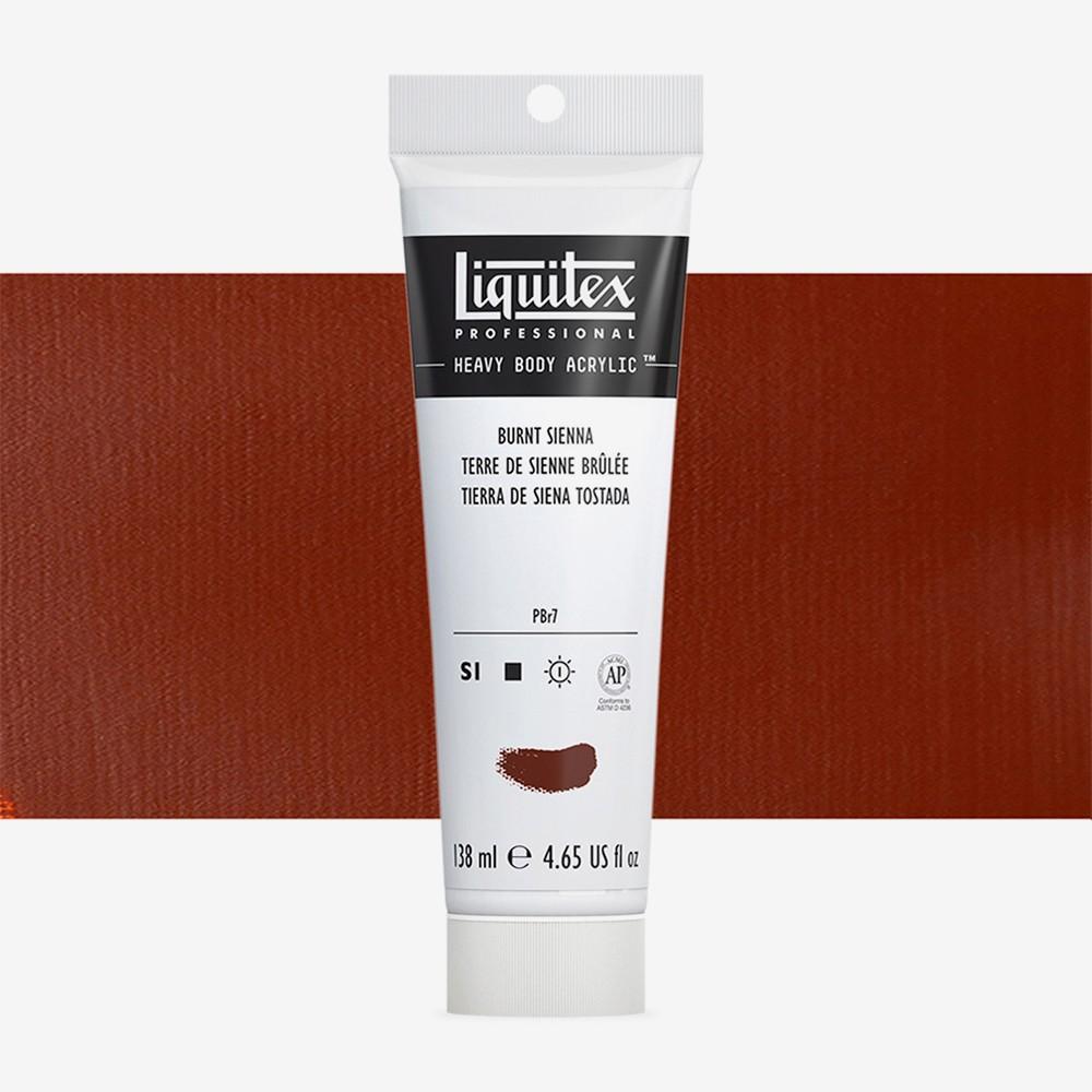 Liquitex : Professional : Heavy Body Acrylic Paint : 138ml : Burnt Sienna