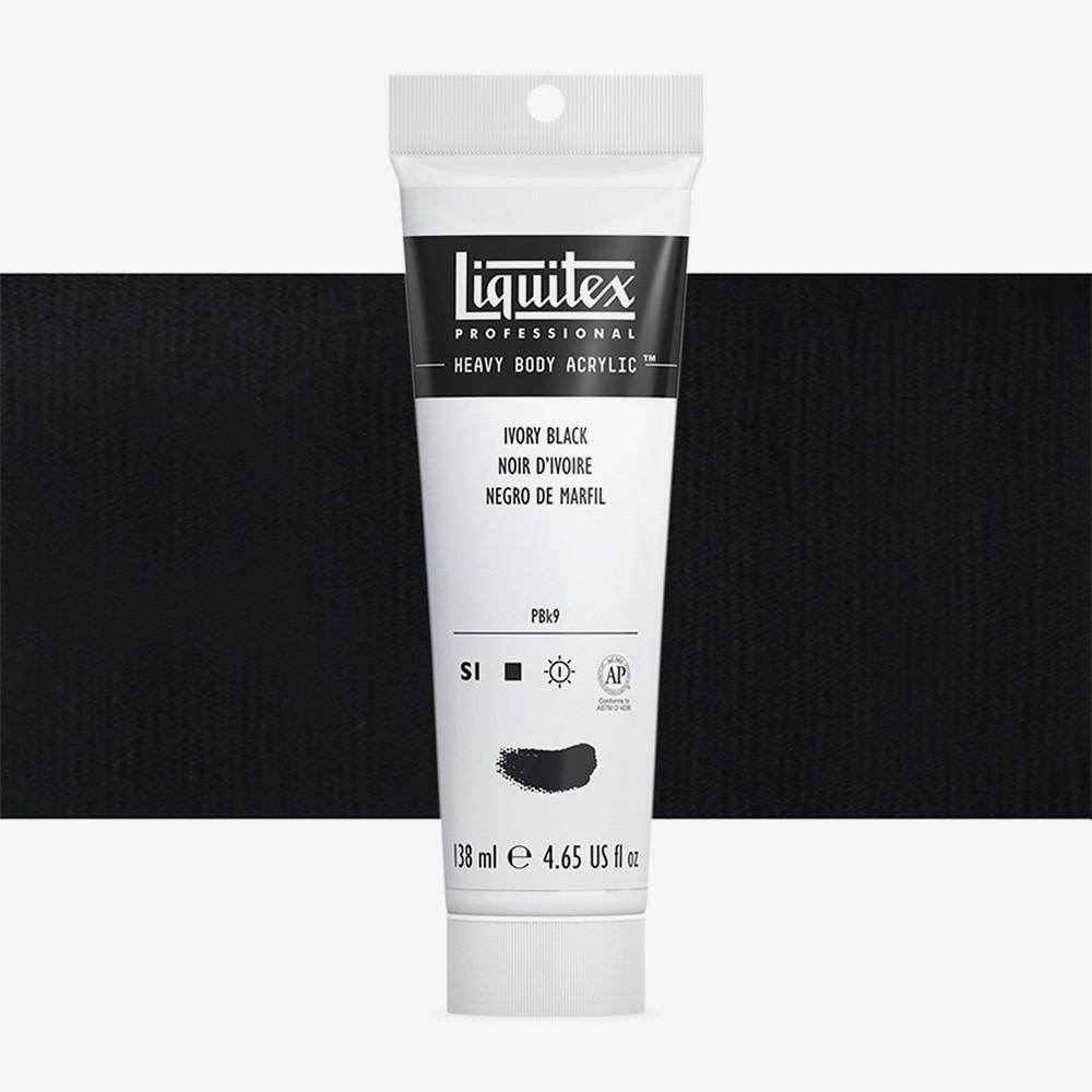 Liquitex : Professional : Heavy Body Acrylic Paint : 138ml : Ivory Black