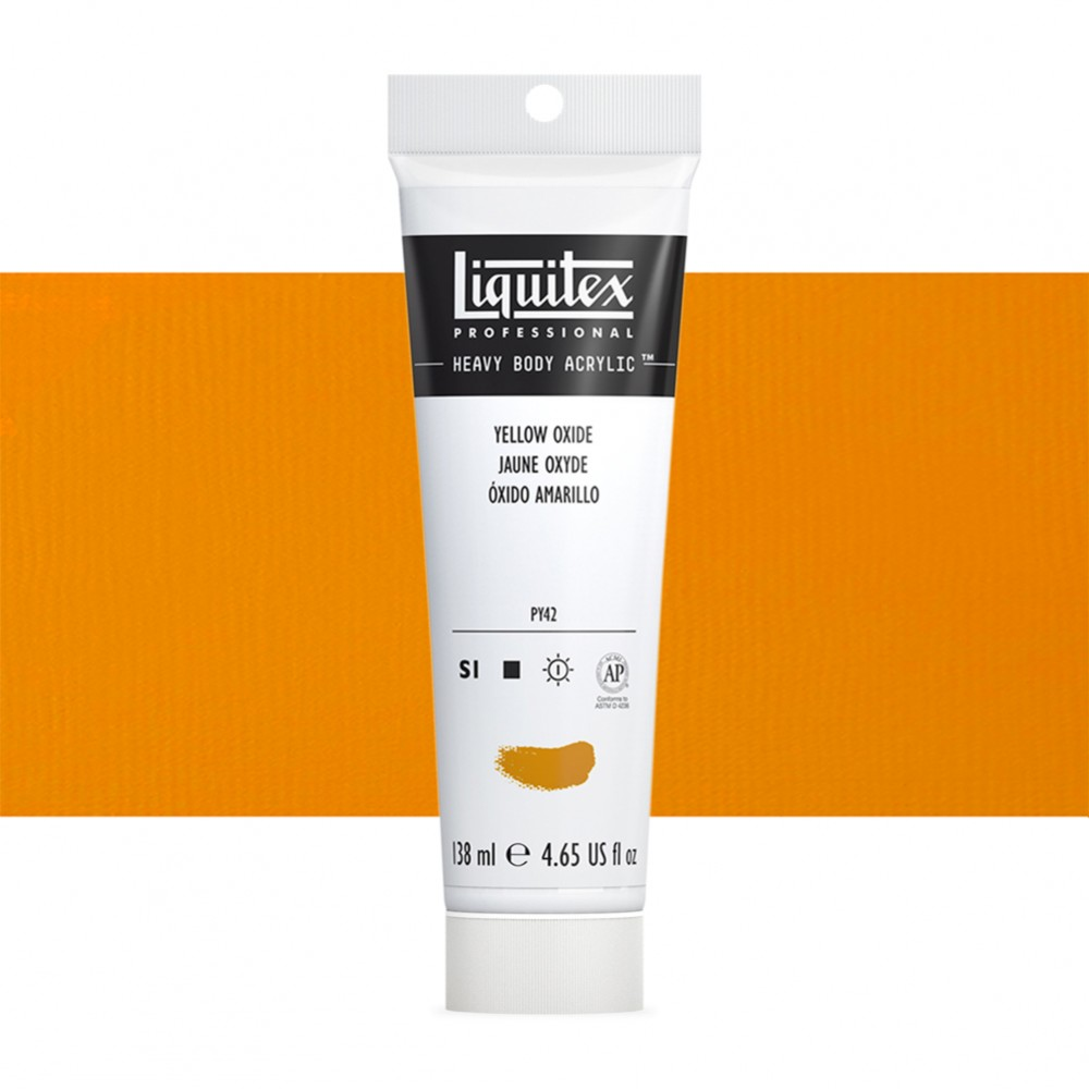 Liquitex : Professional : Heavy Body Acrylic Paint : 138ml : Yellow Oxide