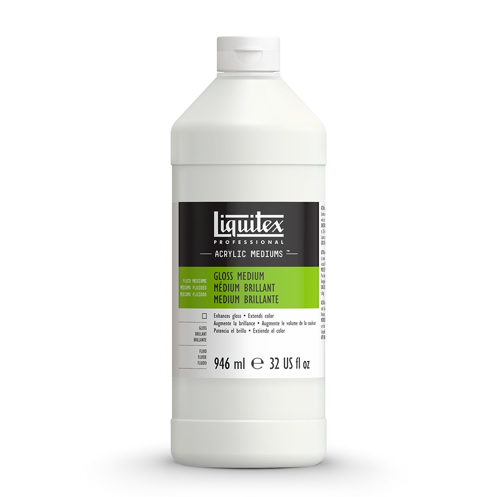 Liquitex : Professional : Fluid Gloss Medium And Varnish : 946ml : 5032