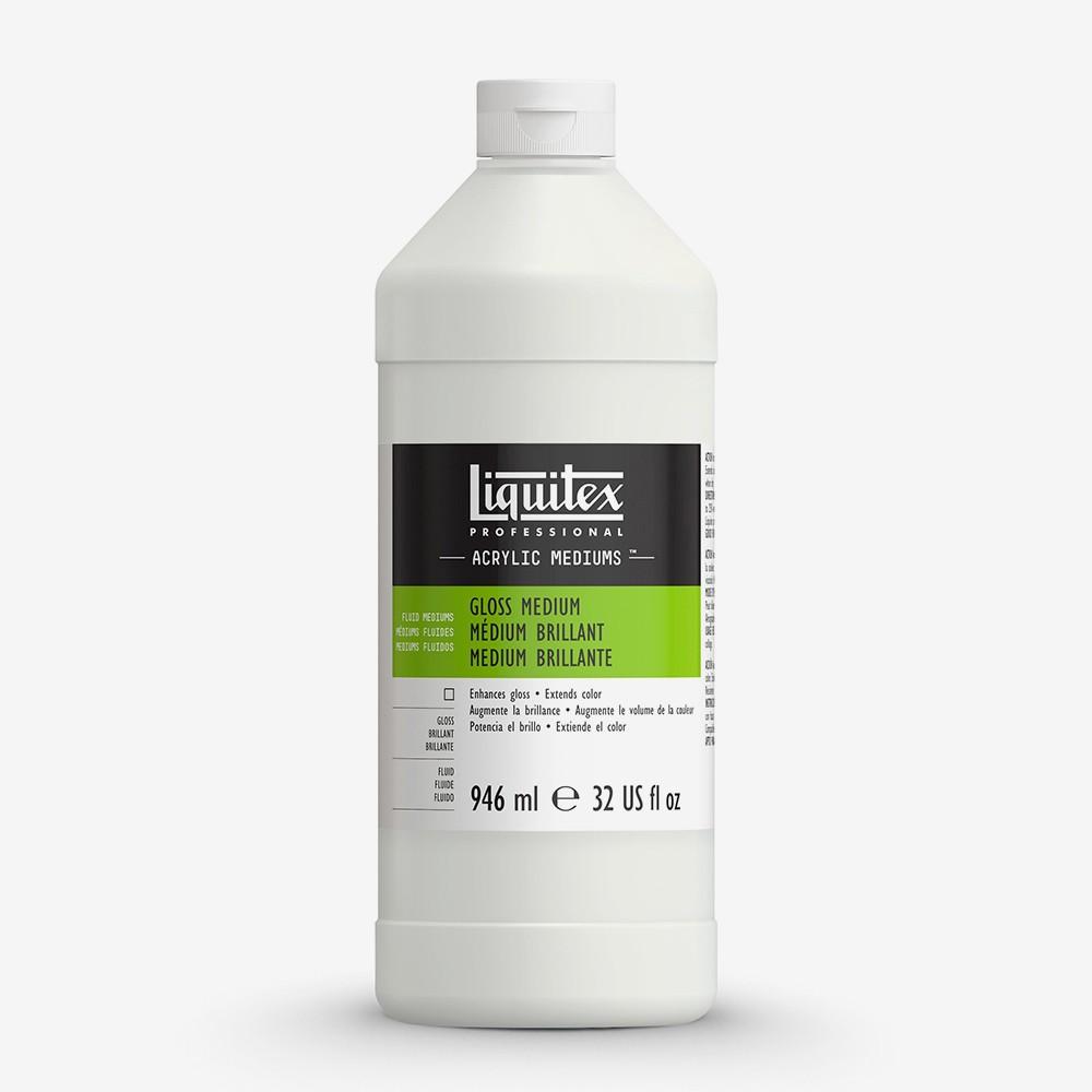 Liquitex : Professional : Fluid Gloss Medium And Varnish : 946ml : 5032
