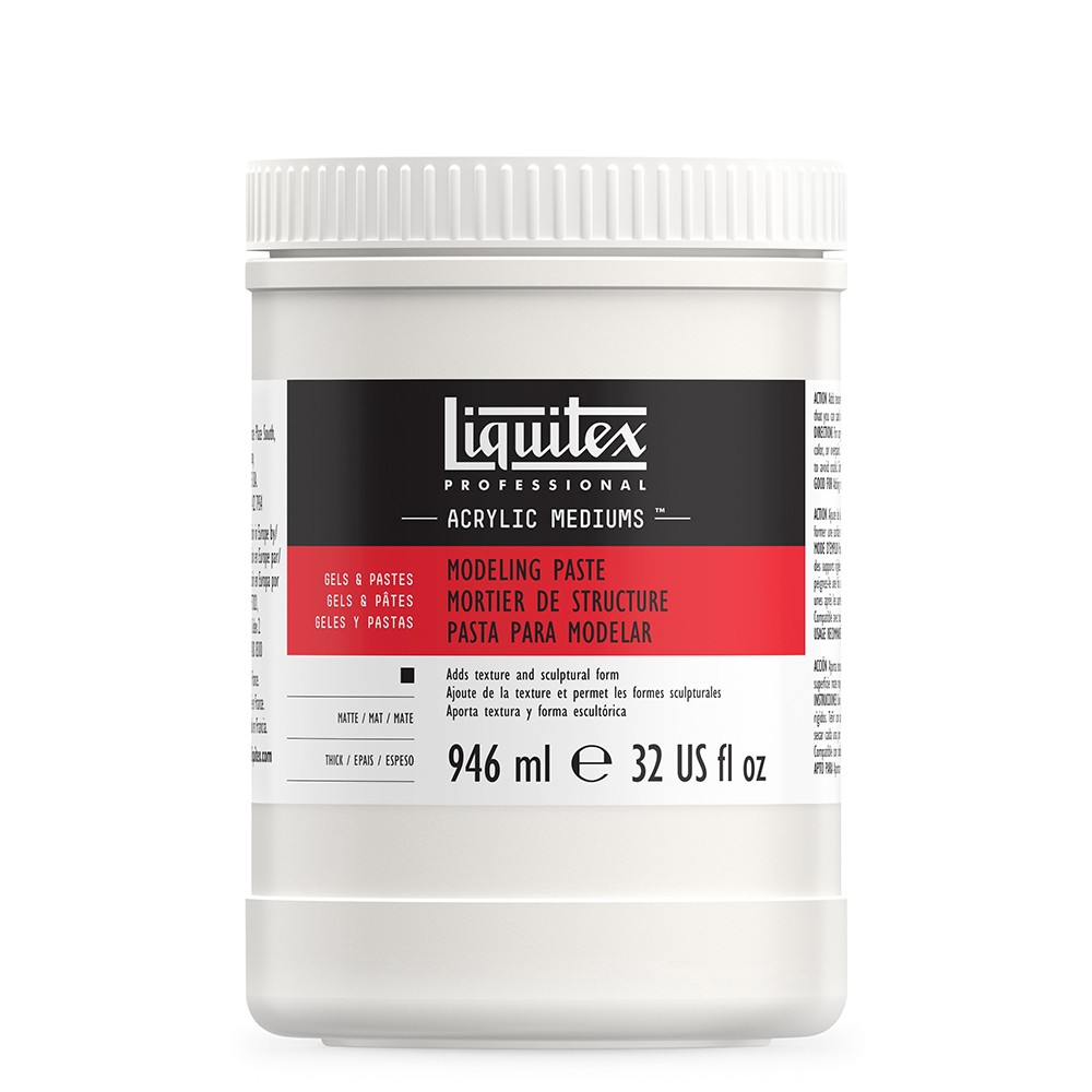 Liquitex : Professional : Modeling Paste : 946ml : 5532